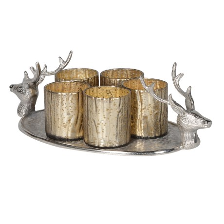 Ch Stag Tea Light Holder Country Furniture Barn