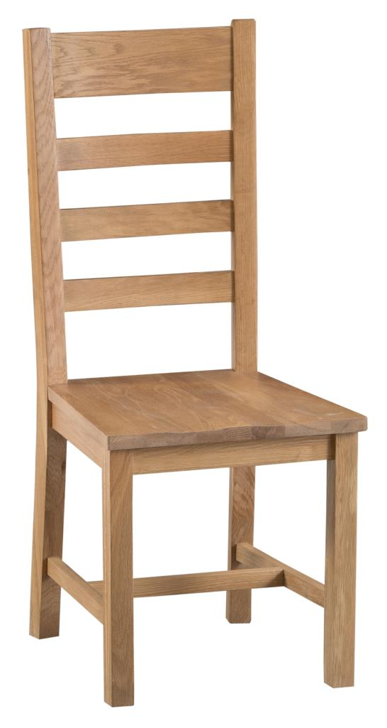Ki Chester Ladder Back Wooden Seat Chair Country Furniture Barn