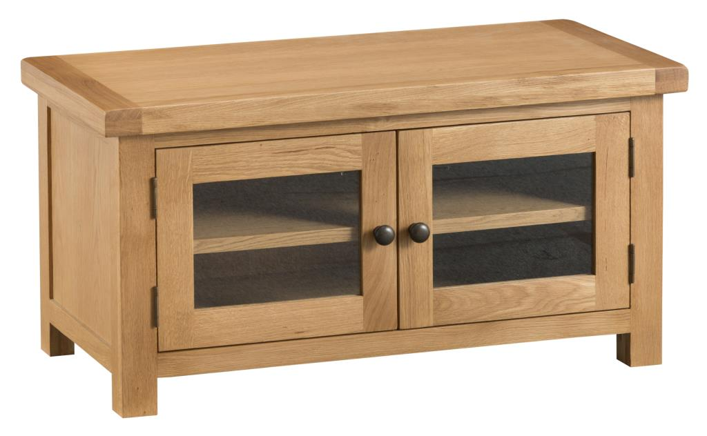 Ki Chester Standard Tv Unit With Glazed Doors Country Furniture Barn