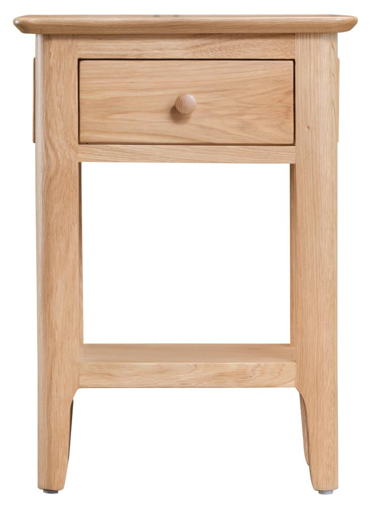 buy popular 16303 02432 KI - Natural Oak Side Table