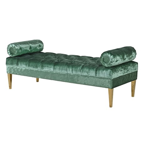 CH - Emerald Green Velvet Chaise - Country Furniture Barn Green Chaise Longue Uk on chaise recliner chair, chaise furniture, chaise sofa sleeper,